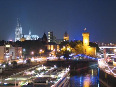 """Lange Nächte gegen Überwachung in der City Köln bei der """"Woche Deiner Privatheit"""" (Foto: Messe Köln)"""