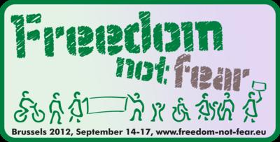 Freedom not Fear in Brüssel 14-17. September 2012