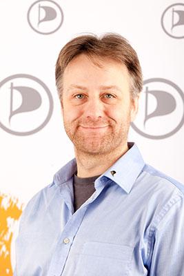 Jens Seipenbusch [1], Bundestagskandidat der NRW Piraten
