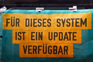 FUER DIESES SYSTEM IST EIN UPDATE VERFÜGBAR - IMG_0604 - FOTO be-him CC-BY NC ND - BLOG