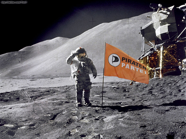 PIRATENPARTEI - PIRATEN AUF DEM MOND - FOTO TURI - 11-05-2014 - BLOG