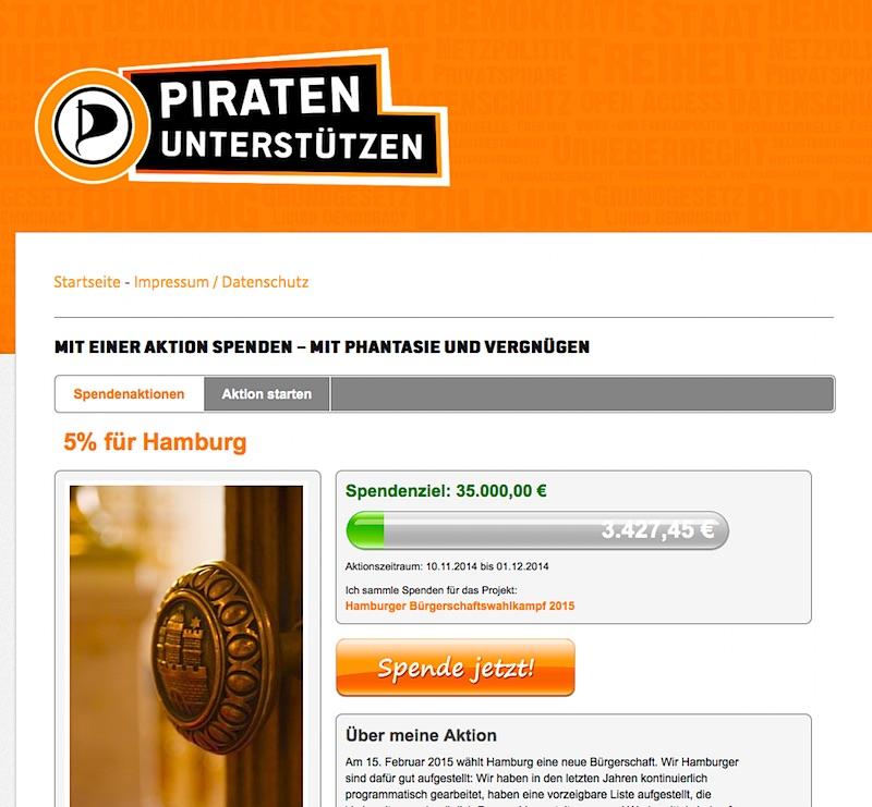 Piraten Hamburg Fünf-Prozent