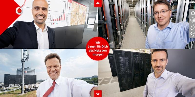 """Vodafone-Werbung: """"Wir bauen für Dich das Netz von morgen"""", eine Drohung? Netzausbau zur noch besseren Kundenbespitzelung und Direkt-Upload auf die größte Festplate der Welt im NSA-Datacenter Utah?"""