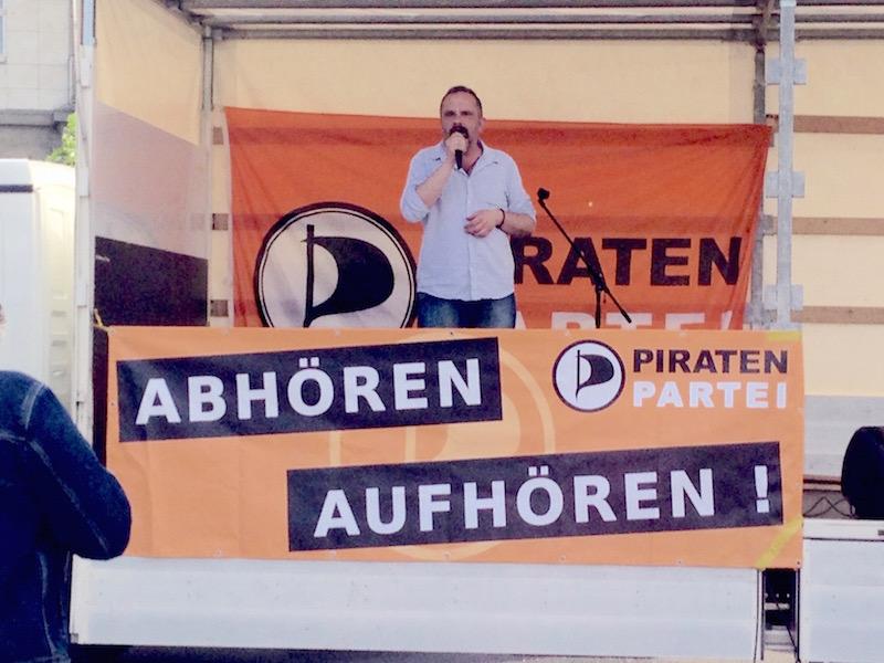 Freiheit-statt-Angst-Tourstation am 13. Juni in Kassel mit Kristos von den PIRATEN