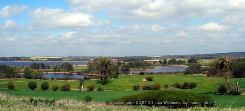 """Auch noch """"Metropolregion"""", aber etwas menschenleerer. In der Uckermark im Nordosten hat es 120.000 Einwohner auf über 250 Seen."""