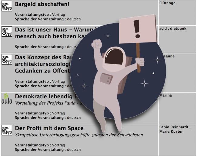Ohne Bargeld eigenen Wohnraum kaufen und Abzockereien verhindern: die #om15 in Kassel